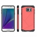 Samsung Galaxy Note 5 Hybrid Combo Aegis Armor Case Cover (Pink) protective carrying case by PDair