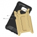 Samsung Galaxy Note 5 Hybrid Dual Layer Tough Armor Case (Gold) protective carrying case by PDair