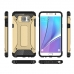 Samsung Galaxy Note 5 Hybrid Dual Layer Tough Armor Case (Rose Gold) genuine leather case by Pdair