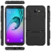 Samsung Galaxy J6 Tough Armor Protective Case (Black) Wide selection of colors and patterns by PDair
