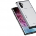 Samsung Galaxy Note 10 Plus Armor Protective Case with Card Slot (Silver) protective stylish skin case by PDair