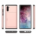 Samsung Galaxy Note 10 Armor Protective Case with Card Slot (Rose Gold) Wide selection of colors and patterns by PDair