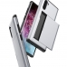 Samsung Galaxy Note 10 Armor Protective Case with Card Slot (Silver) best cellphone case by PDair