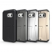 Samsung Galaxy S6 Tank Tough Armor Protective Case Grey handmade leather case by PDair