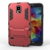 Samsung Galaxy S5 Tough Armor Protective Case (Red) protective carrying case by PDair