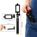 Volume Key Cable Selfie Stick for Smartphone genuine leather case by PDair