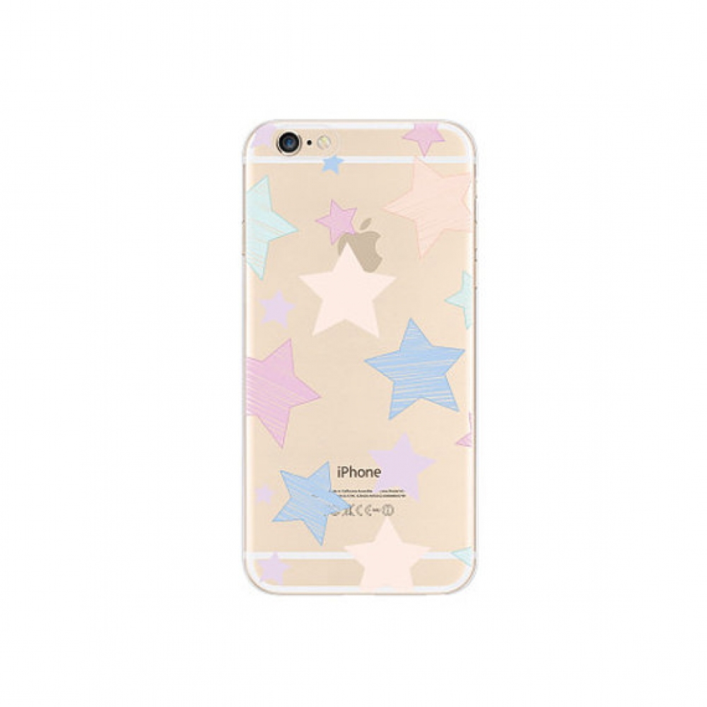 10% OFF + FREE SHIPPING, Buy PDair iPhone Pattern Printed Soft Clear Case (Star Pattern) which is available for iPhone 6 | iPhone 6s, iPhone 6 Plus | iPhone 6s Plus, iPhone 5 | iPhone 5s SE. You also can go to the customizer to create your own stylish lea