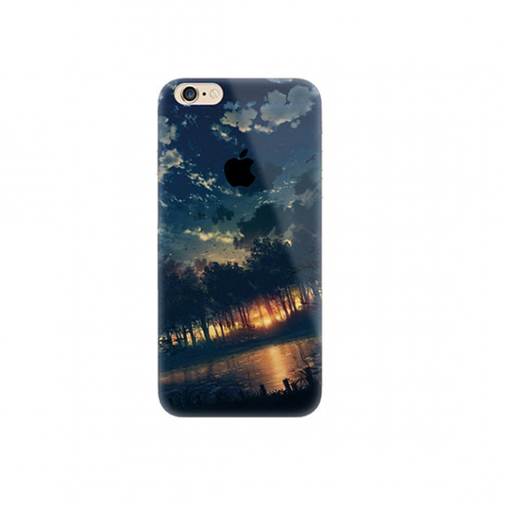 10% OFF + FREE SHIPPING, Buy PDair Top Quality iPhone Soft Clear Case Sunset Forest Scenery which is available for iPhone 6 | iPhone 6s, iPhone 6 Plus | iPhone 6s Plus, iPhone 5 | iPhone 5s SE You also can go to the customizer to create your own stylish l
