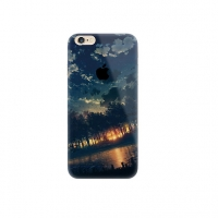 Sunset Forest Scenery iPhone 6s 6 Plus SE 5s 5 Pattern Printed Soft Case