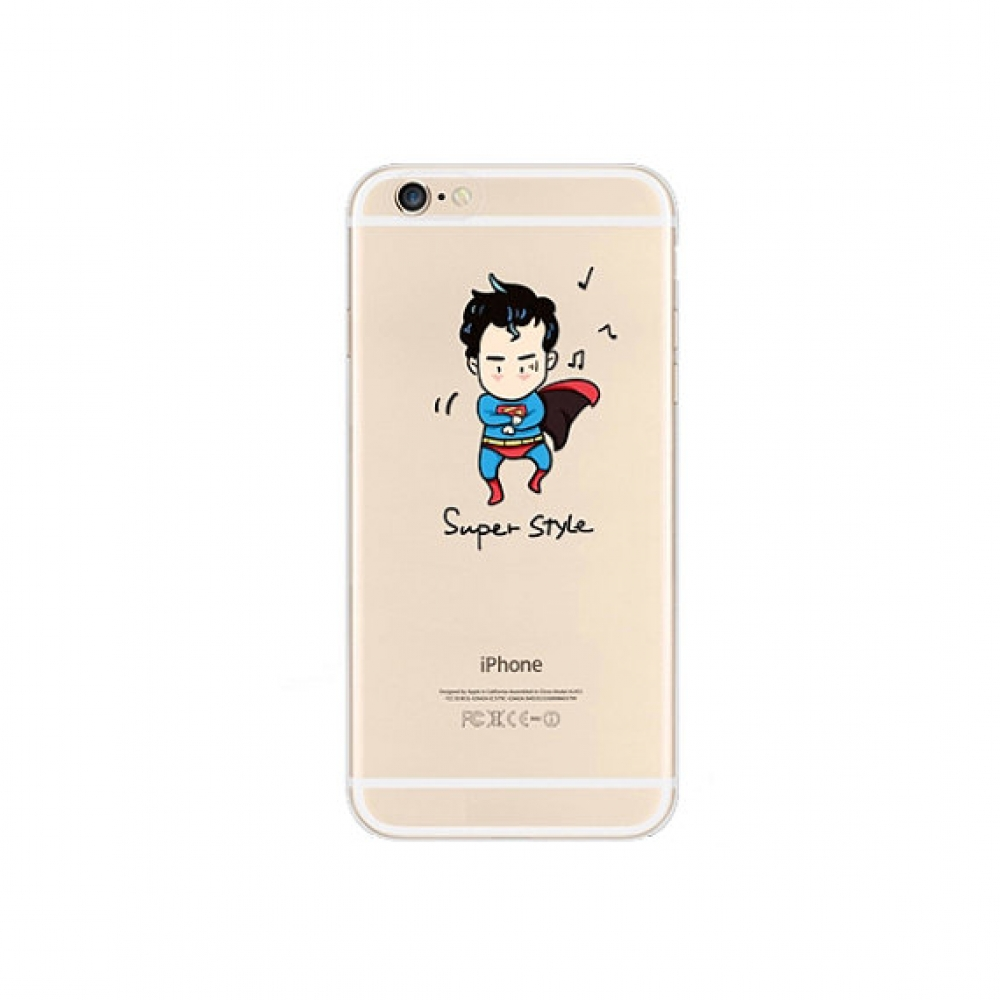 10% OFF + FREE SHIPPING, Buy PDair iPhone Soft Clear Case (Superman x PSY Gangnam Style) which is available for iPhone 6 | iPhone 6s, iPhone 6 Plus | iPhone 6s Plus, iPhone 5 | iPhone 5s SE. You also can go to the customizer to create your own stylish lea
