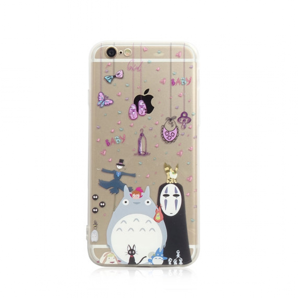 10% OFF + FREE SHIPPING, Buy PDair iPhone Soft Clear Case Totoro Chu Chibi No Face which is available for iPhone 5 | iPhone 5s, iPhone 6 | iPhone 6s, iPhone 6 Plus | iPhone 6s Plus, iPhone SE You also can go to the customizer to create your own stylish le