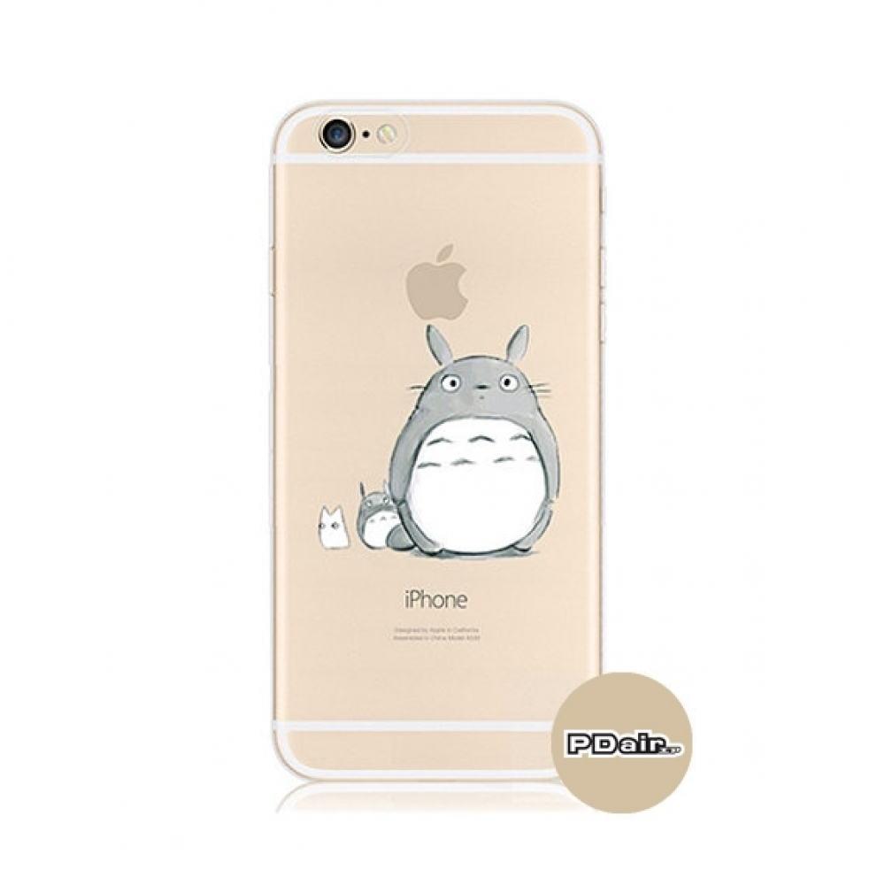 10% OFF + FREE SHIPPING, Buy PDair iPhone Pattern Printed Soft Clear Case (Totoro) which is available for iPhone 5 | iPhone 5s, iPhone 6 | iPhone 6s, iPhone 6 Plus | iPhone 6s Plus, iPhone SE. You also can go to the customizer to create your own stylish l