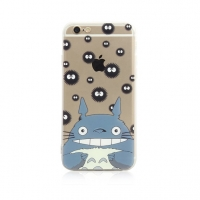Totoro Soot Pattern iPhone 6s 6 Plus SE 5s 5 Pattern Printed Soft Case