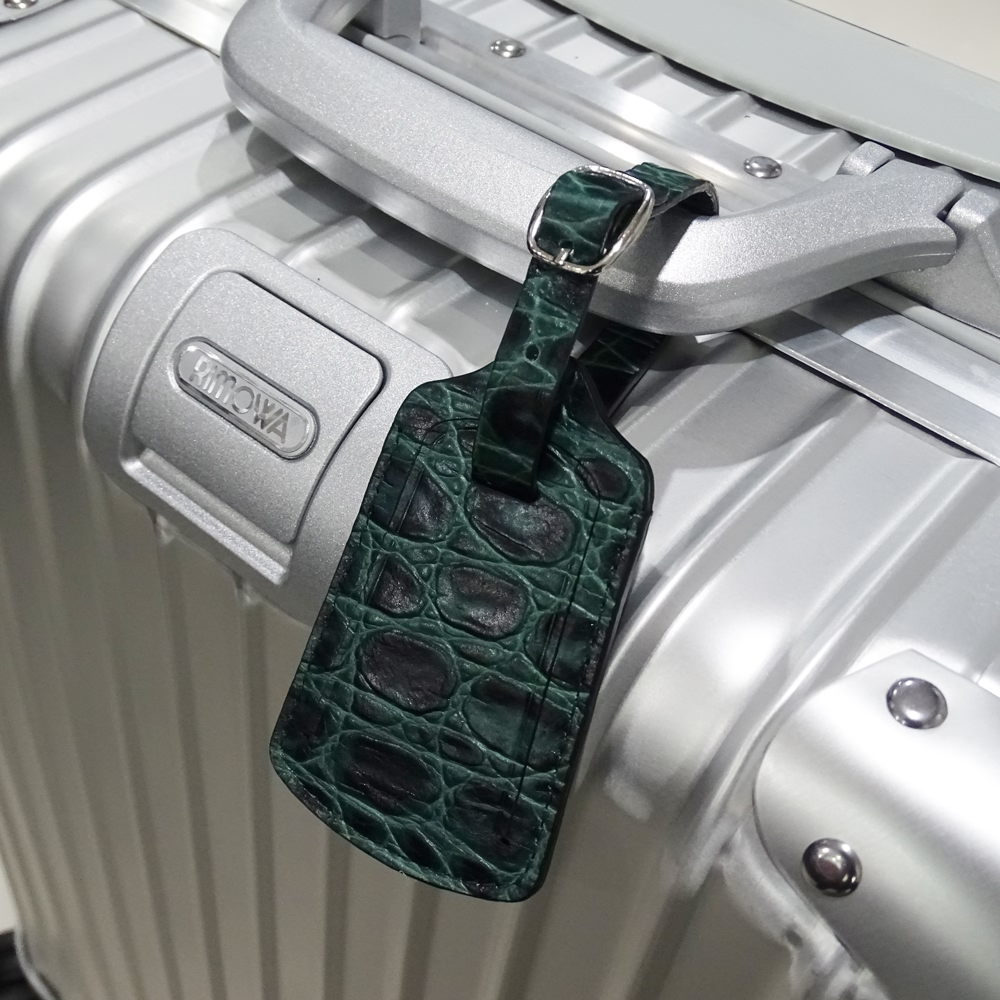 10% OFF + FREE SHIPPING, Buy Best PDair Premium Handmade Full Grain Top Quality Carrying Travel Leather Luggage Tag (Green Croc Pattern) online. You also can go to the customizer to create your own stylish leather case if looking for additional colors, pa