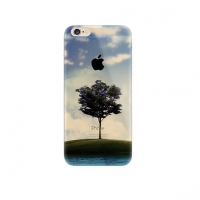 Tree Scenery iPhone 6s 6 Plus SE 5s 5 Pattern Printed Soft Case