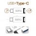 USB 3.0 Flash Drive with Type-C Port for Android, PC & Mac Jack Design handmade leather case by PDair