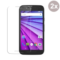 Ultra Clear Screen Protector for Motorola Moto G (Gen 3) (Pack of 2pcs)