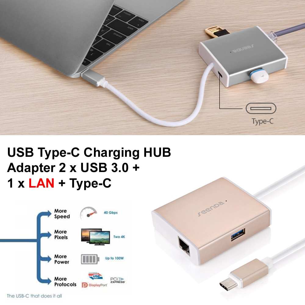10% OFF + FREE Shipping, Buy Best PDair Top Quality USB Type-C Charging HUB Adapter 2 x USB 3.0 + 1 x LAN + Type-C online. You also can go to the customizer to create your own stylish leather case if looking for additional colors, patterns and types.