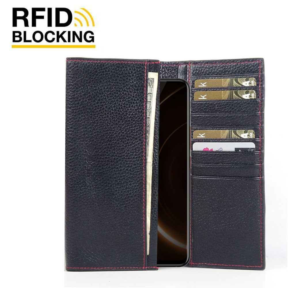 10% OFF + FREE SHIPPING, Buy the BEST PDair Handcrafted Premium Protective Carrying ViVO iQOO Leather Continental Sleeve Wallet (Red Stitching). Exquisitely designed engineered for ViVO iQOO.