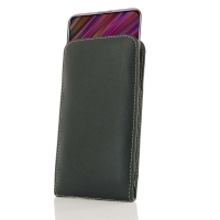 Leather Vertical Pouch Case for ViVO V15