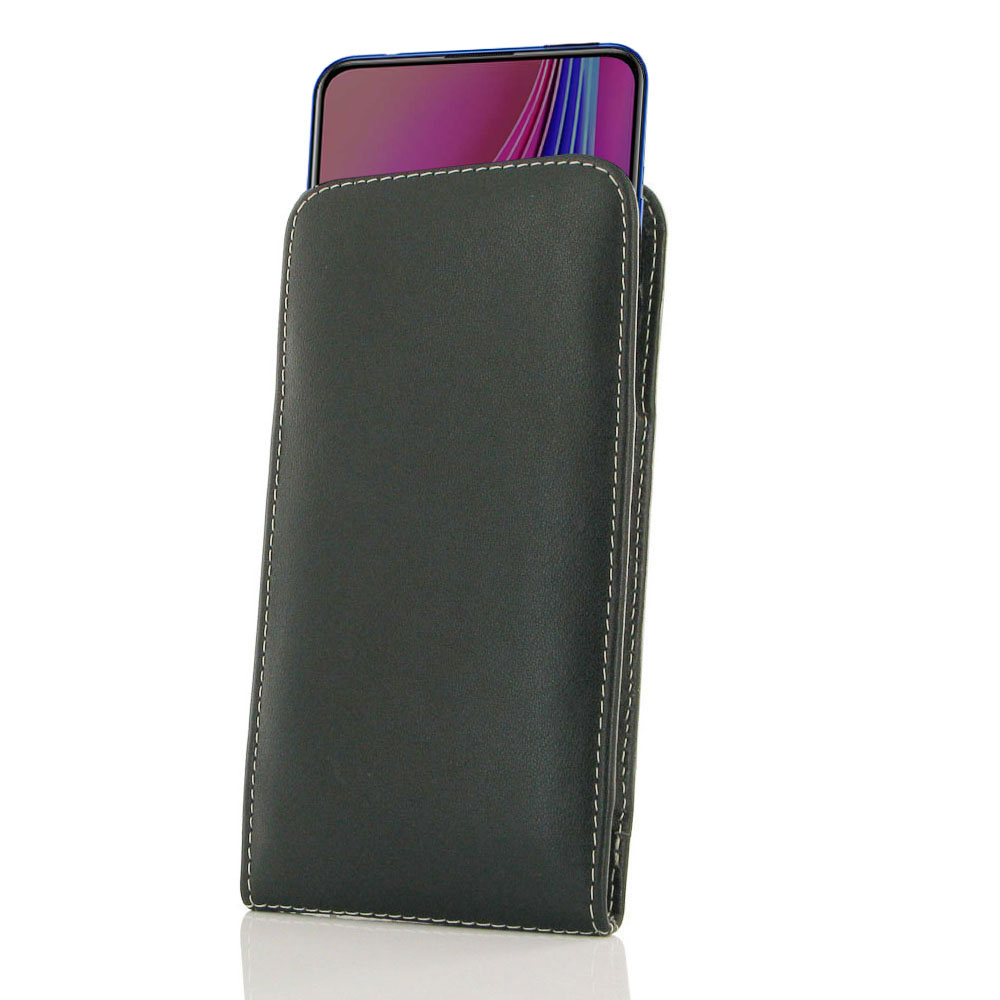 10% OFF + FREE SHIPPING, Buy the BEST PDair Handcrafted Premium Protective Carrying ViVO V15 Pro Leather Sleeve Pouch Case. Exquisitely designed engineered for ViVO V15 Pro.