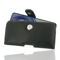 Leather Horizontal Pouch Case with Belt Clip for ViVO X23