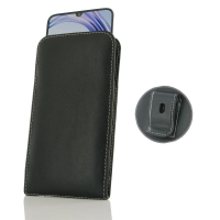 Leather Vertical Pouch Belt Clip Case for ViVO X23