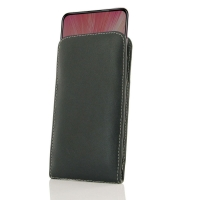 Leather Vertical Pouch Case for ViVO X27