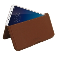 10% OFF + FREE SHIPPING, Buy the BEST PDair Handcrafted Premium Protective Carrying ViVO Y71i Leather Wallet Pouch Case (Brown). Exquisitely designed engineered for ViVO Y71i.