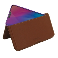 10% OFF + FREE SHIPPING, Buy the BEST PDair Handcrafted Premium Protective Carrying ViVO Y89 Leather Wallet Pouch Case (Brown). Exquisitely designed engineered for ViVO Y89.