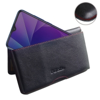 10% OFF + FREE SHIPPING, Buy the BEST PDair Handcrafted Premium Protective Carrying ViVO Y95 Leather Wallet Pouch Case (Red Stitch). Exquisitely designed engineered for ViVO Y95.
