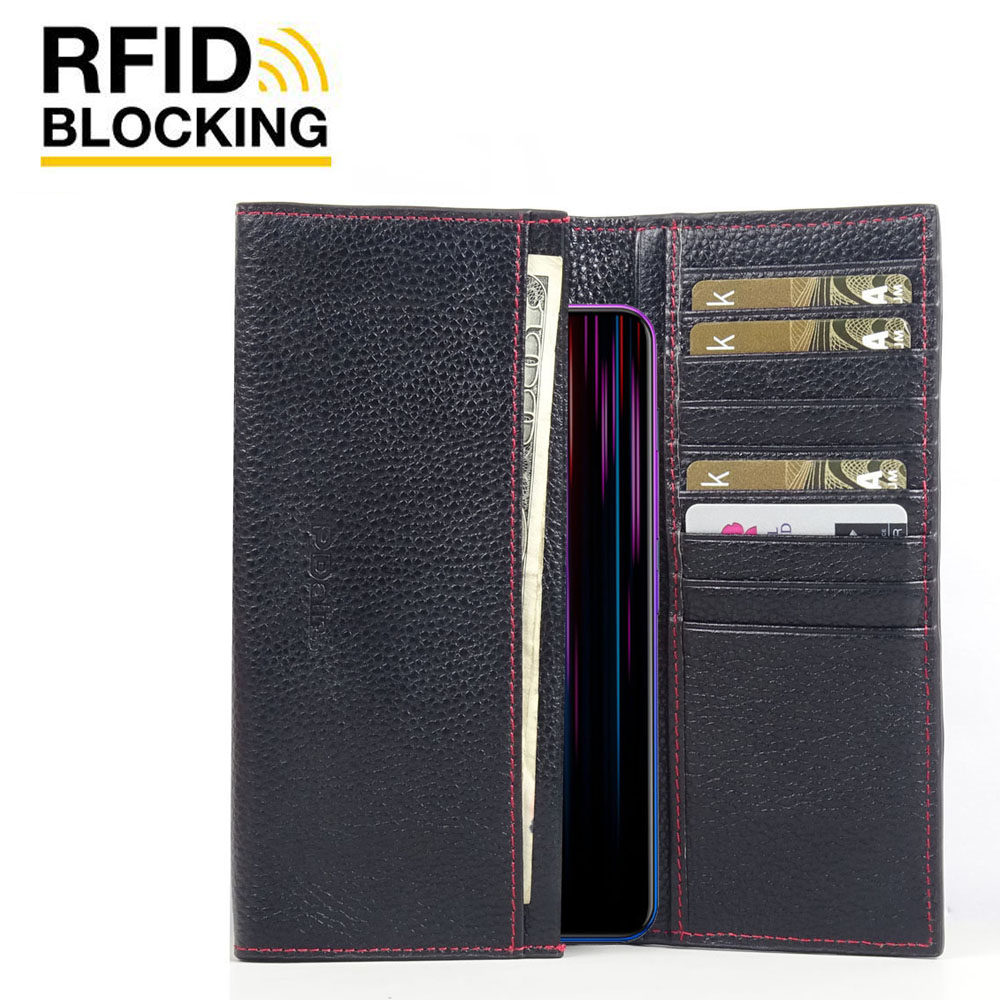 10% OFF + FREE SHIPPING, Buy the BEST PDair Handcrafted Premium Protective Carrying ViVO Z1 Lite Leather Continental Sleeve Wallet (Red Stitching). Exquisitely designed engineered for ViVO Z1 Lite.