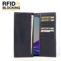 10% OFF + FREE SHIPPING, Buy the BEST PDair Handcrafted Premium Protective Carrying ViVO Z3x Leather Continental Sleeve Wallet (Red Stitching). Exquisitely designed engineered for ViVO Z3x.
