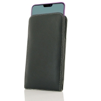 Leather Vertical Pouch Case for ViVO Z3x