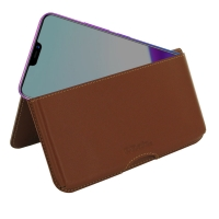 10% OFF + FREE SHIPPING, Buy the BEST PDair Handcrafted Premium Protective Carrying ViVO Z3x Leather Wallet Pouch Case (Brown). Exquisitely designed engineered for ViVO Z3x.