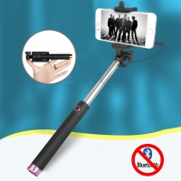 Volume Key Cable Selfie Stick for Smartphone