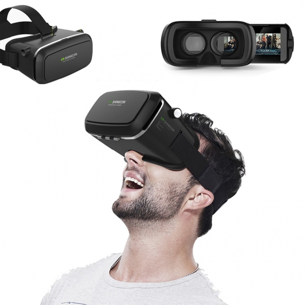 10% OFF + FREE SHIPPING, Buy Best PDair Quality VR Box Virtual Reality 3D Headset Viewing Glasses (Black) online.  You also can go to the customizer to create your own stylish leather case if looking for additional colors, patterns and types.
