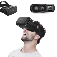 VR Box Virtual Reality 3D Headset Viewing Glasses (Black) :: PDair