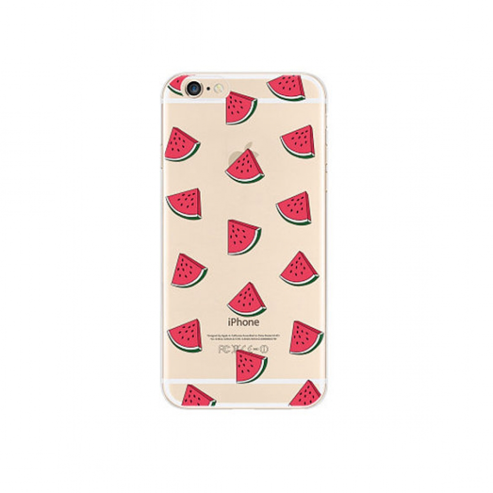 10% OFF + FREE SHIPPING, Buy PDair iPhone Soft Clear Case (Watermelon Pattern Fruits) which is available for iPhone 6 | iPhone 6s, iPhone 6 Plus | iPhone 6s Plus, iPhone 5 | iPhone 5s SE. You also can go to the customizer to create your own stylish leathe