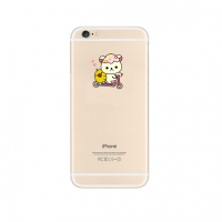 White Rilakkuma Cutie iPhone 6s 6 Plus SE 5s 5 Pattern Printed Soft Case