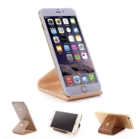 Wood Stand Holder for Smartphone, iPhone or Cell Phone