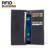 10% OFF + FREE SHIPPING, Buy the BEST PDair Handcrafted Premium Protective Carrying Xiaomi Redmi Go Leather Continental Sleeve Wallet (Red Stitching). Exquisitely designed engineered for Xiaomi Redmi Go.