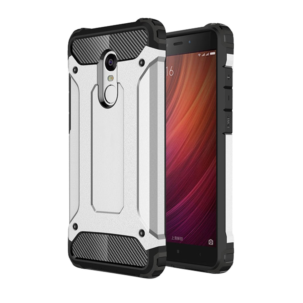 10% OFF + FREE SHIPPING, Buy Best PDair Premium Protective Xiaomi Redmi Note 4  Hybrid Dual Layer Tough Armor Protective Case (Silver). You also can go to the customizer to create your own stylish leather case if looking for additional colors, patterns an