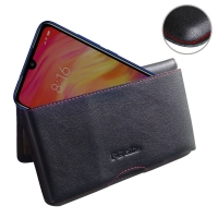 10% OFF + FREE SHIPPING, Buy the BEST PDair Handcrafted Premium Protective Carrying Xiaomi Redmi Note 7 Leather Wallet Pouch Case (Red Stitch). Exquisitely designed engineered for Xiaomi Redmi Note 7.
