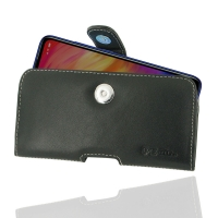 Leather Horizontal Pouch Case with Belt Clip for Xiaomi Redmi Note 7 Pro