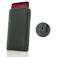 Leather Vertical Pouch Belt Clip Case for Xiaomi Redmi Note 7 Pro