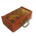 Handmade Collectible Antique Chess Game Set Oriental China Style Leather Surface (Red) ZBXGR-A050E1 handmade leather case by PDair