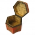 Handmade Collectible Antique Oriental Candy Box Leather Surface (Red) ZBXGR-A057 protective carrying case by PDair