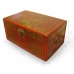 Handmade Collectible Antique Oriental Box Leather Surface (Red) ZBXGR-A0791 handmade leather case by PDair