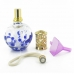 Pure Glass Tree Blue Dots Fragrance Effusion Lamp Oil Diffuser protective carrying case by PDair